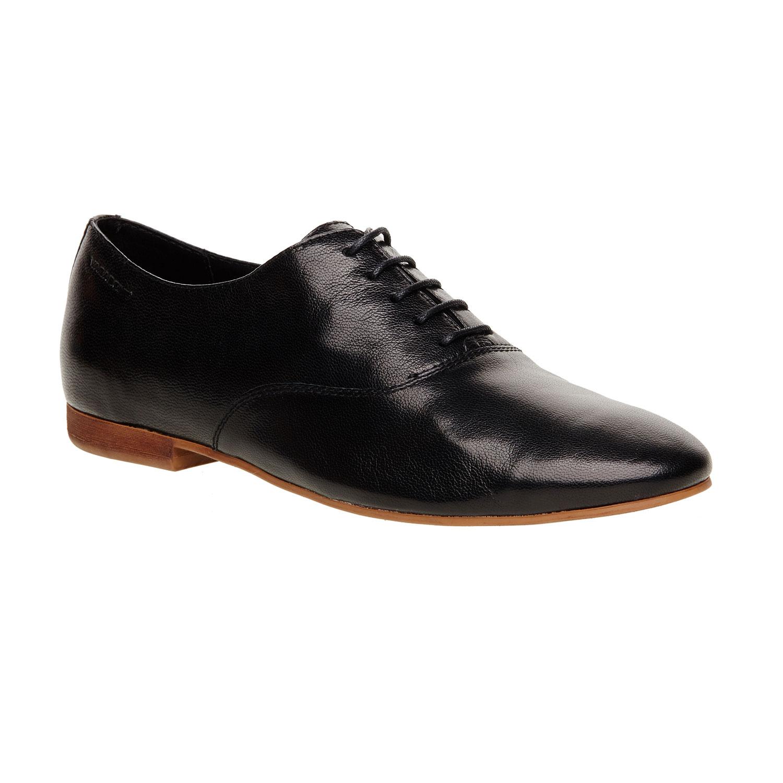 Chaussure lacée en cuir pour femme