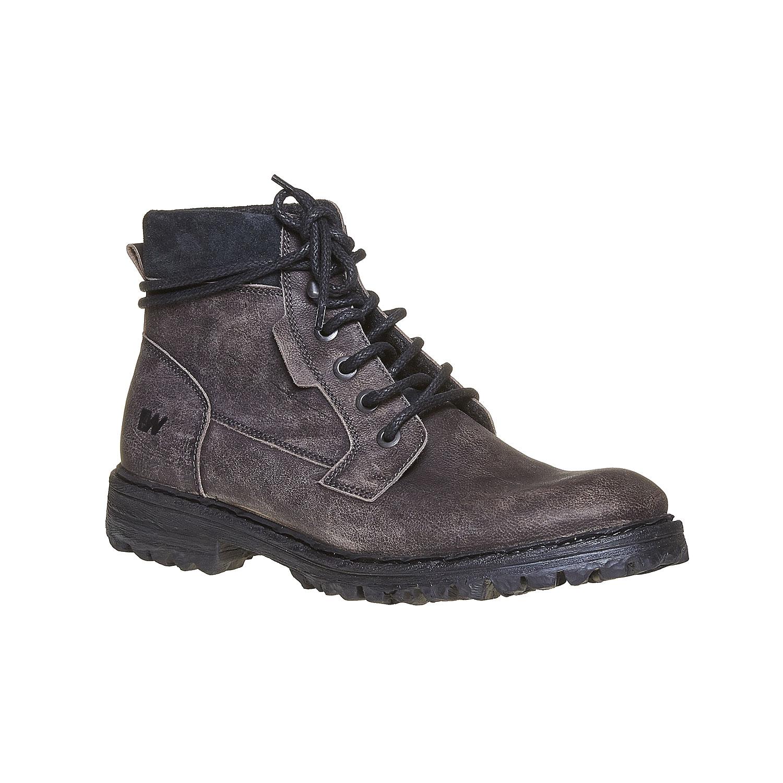 Chaussures d'hiver en cuir pour homme