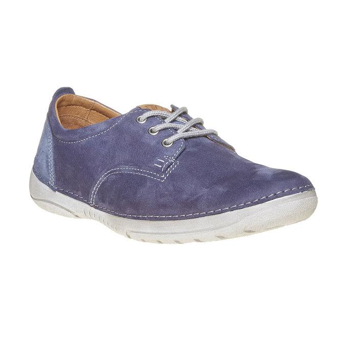 Chaussure homme en cuir weinbrenner, Bleu, 846-9657 - 13
