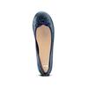 Ballerines en cuir bata, Bleu, 524-9144 - 17