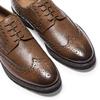 Derbies en cuir bata-light, Brun, 824-4399 - 19