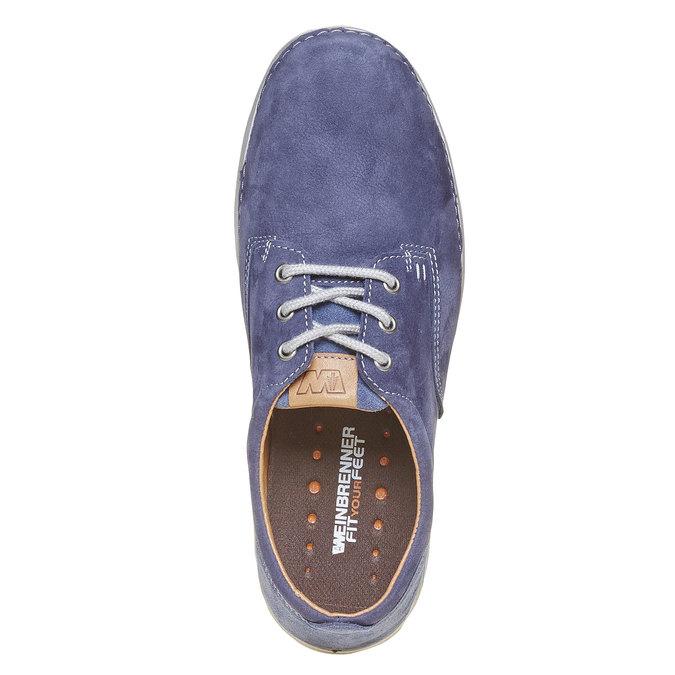 Chaussure homme en cuir weinbrenner, Bleu, 846-9657 - 19