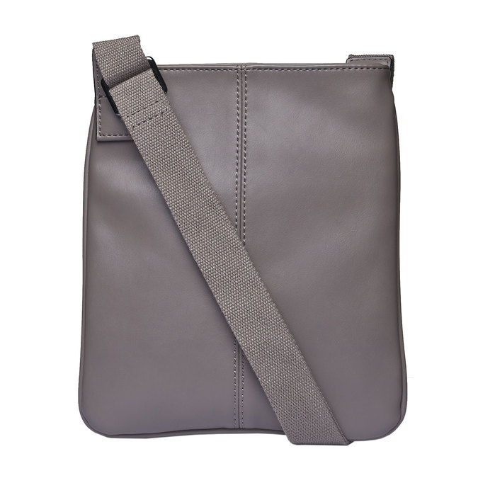 Sac Crossbody homme perforé bata, Gris, 961-2739 - 26