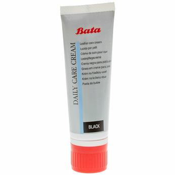 Crème de soin pour chaussures en cuir bata, Noir, 990-6806 - 13