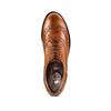 Chaussure en cuir pour femme dans le style Oxford bata, Brun, 524-3214 - 17
