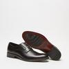 Chaussure lacée Derby en cuir bata, Noir, 824-6874 - 19
