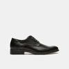 Chaussure lacée Derby en cuir bata, Noir, 824-6874 - 13