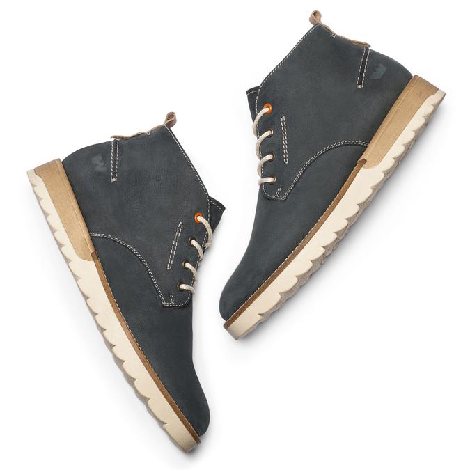 Chaussures Homme weinbrenner, Bleu, 896-9452 - 19