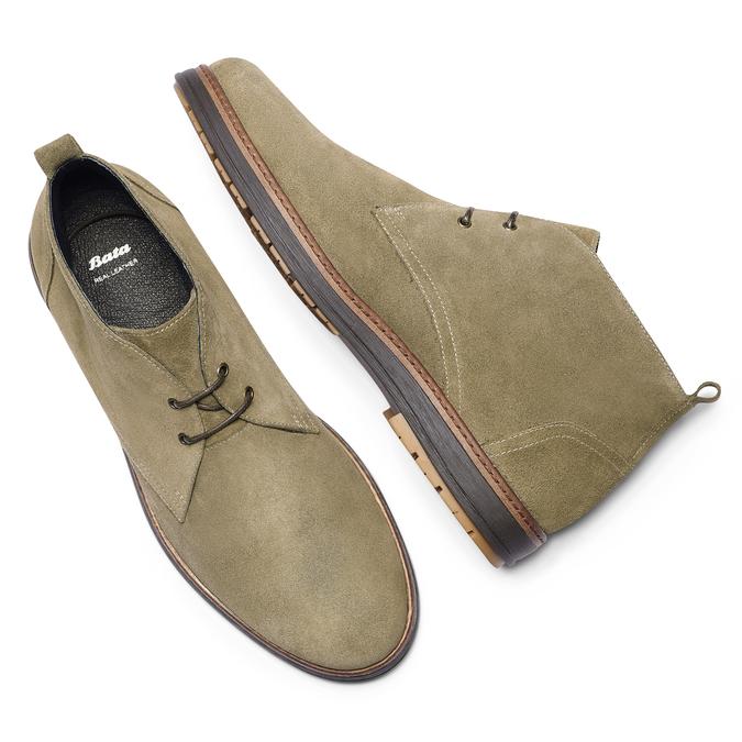 Chaussures Homme bata, Gris, 823-2535 - 19