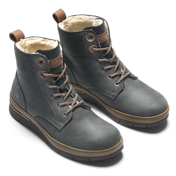 Women's shoes weinbrenner, Bleu, 596-9108 - 19