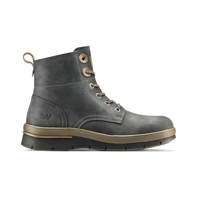Women's shoes weinbrenner, Bleu, 596-9108 - 26