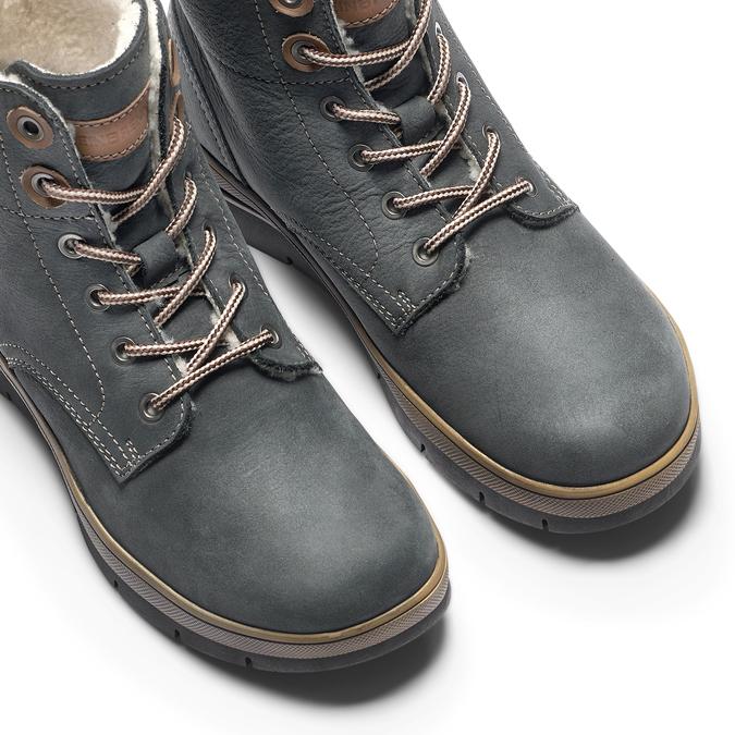 Women's shoes weinbrenner, Bleu, 596-9108 - 15