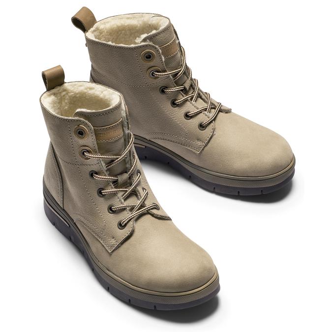 Women's shoes weinbrenner, Gris, 596-2108 - 15