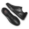 Basket en cuir homme flexible, Noir, 844-6709 - 26