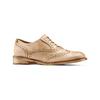 Chaussure lacée fantaisie en cuir pour femme bata, Jaune, 524-8482 - 13