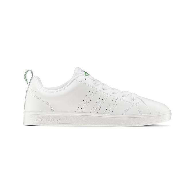 Basket blanche avec détails verts adidas, Blanc, 501-1300 - 26