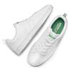 Basket blanche avec détails verts adidas, Blanc, 501-1300 - 19