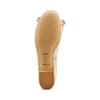 Ballerine en cuir à nœud bata, Jaune, 524-8420 - 19