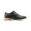 Chaussure Oxford en cuir femme bata, Noir, 524-6482 - 13
