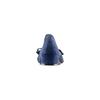 Ballerine en cuir à nœud bata, Bleu, 523-9420 - 15
