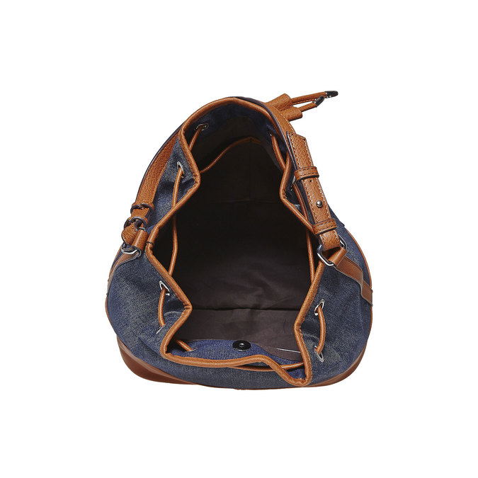 Sac Bucket bata, Bleu, 969-9332 - 15