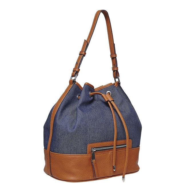 Sac Bucket bata, Bleu, 969-9332 - 13