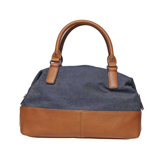 Grand sac à main femme bata, Bleu, 969-9354 - 26