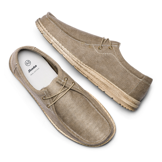 Men's shoes bata, Beige, 859-2280 - 26