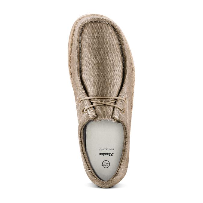 Men's shoes bata, Beige, 859-2280 - 17