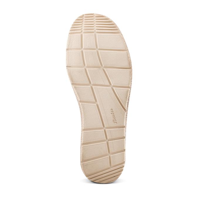 Men's shoes bata, Beige, 859-2280 - 19