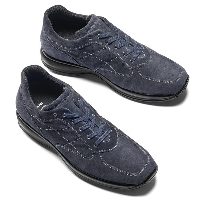 Men's shoes bata, Bleu, 843-9315 - 19