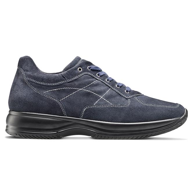 Men's shoes bata, Bleu, 843-9315 - 26