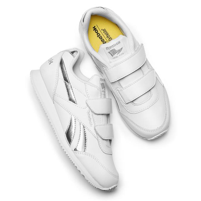 Childrens shoes reebok, Blanc, 301-1186 - 19