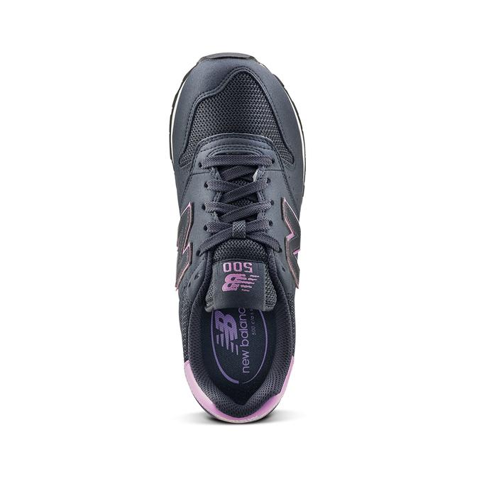Childrens shoes new-balance, Bleu, 509-9600 - 15