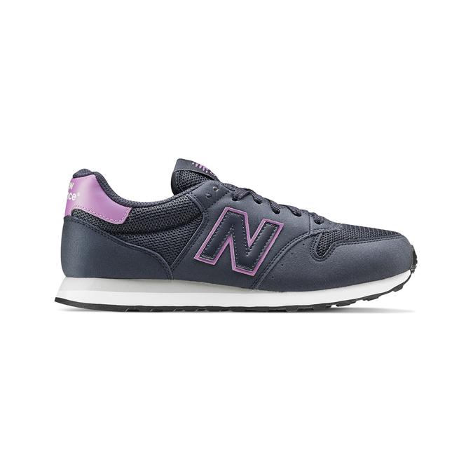 Childrens shoes new-balance, Bleu, 509-9600 - 26