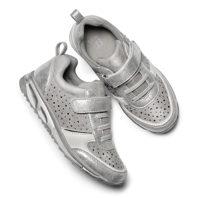 Childrens shoes mini-b, Gris, 329-2295 - 19