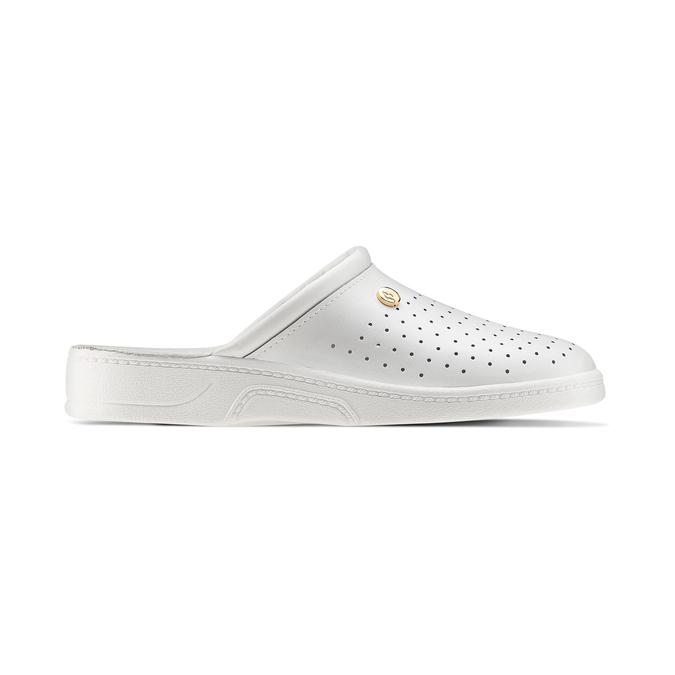 Chaussure d'intérieur pour homme bata, Blanc, 874-1803 - 26