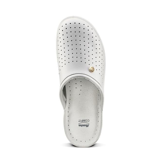 Chaussure d'intérieur pour homme bata, Blanc, 874-1803 - 15