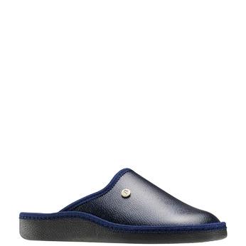 Chaussons bata, Noir, Bleu, 871-9304 - 13