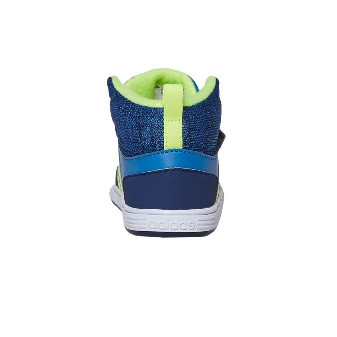 Childrens shoes adidas, Bleu, 101-9292 - 17
