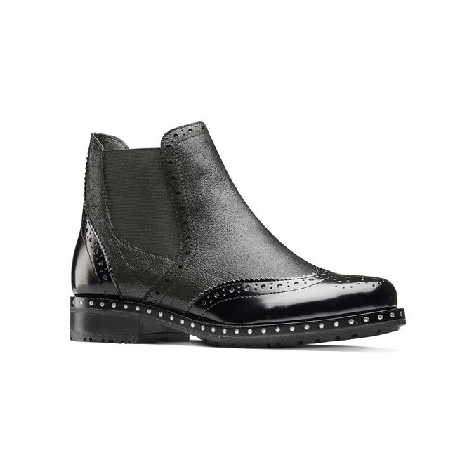 Women's shoes bata, Gris, 594-2186 - 13