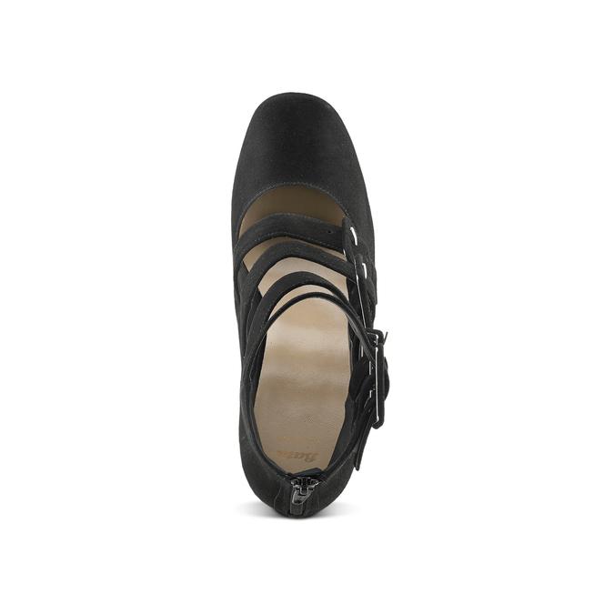 Women's shoes bata, Noir, 723-6984 - 15