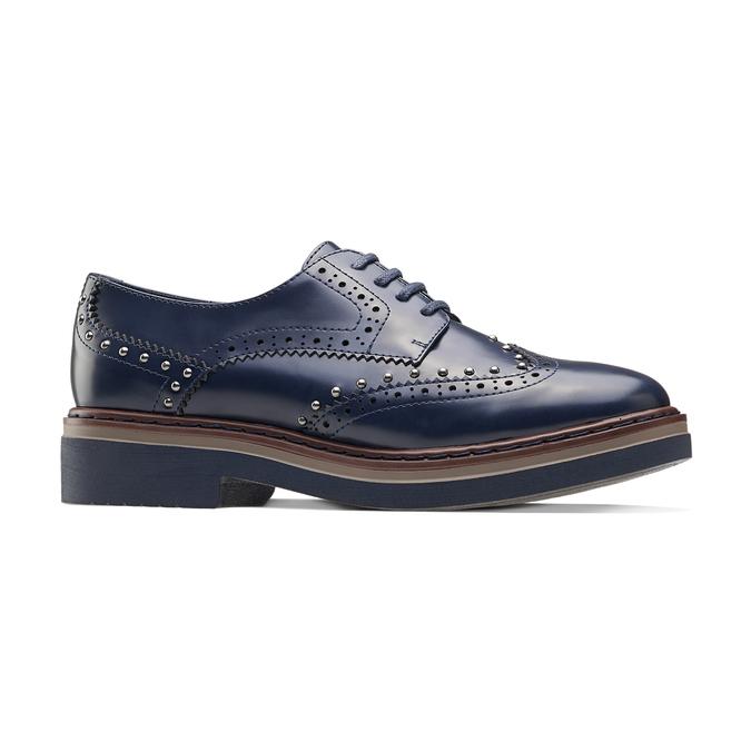 Women's shoes bata, Bleu, 521-9657 - 13