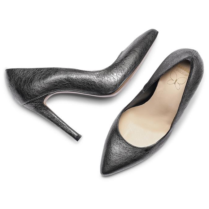 Women's shoes insolia, Gris, 724-2111 - 19