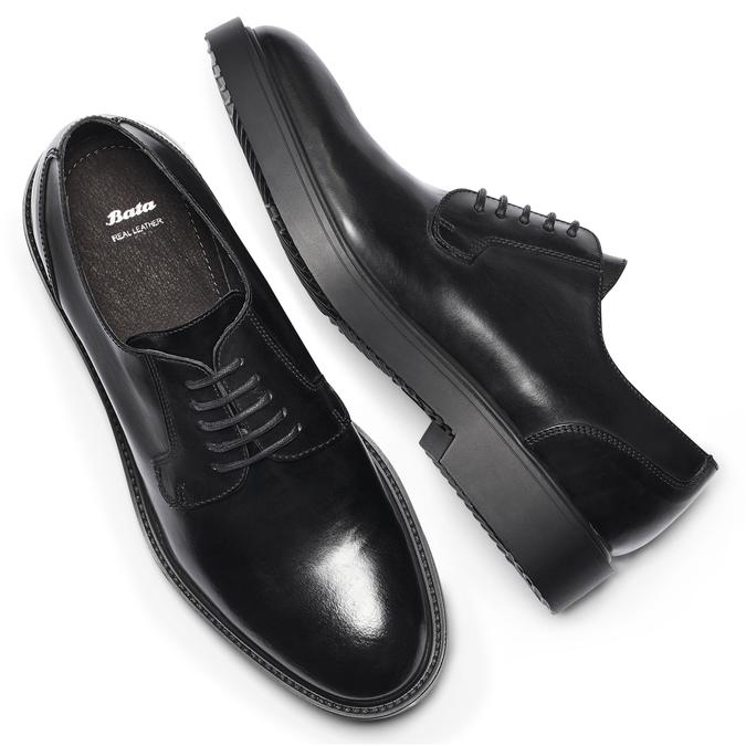 Men's shoes bata, Noir, 824-6157 - 19