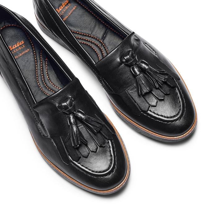 Women's shoes flexible, Noir, 514-6128 - 26