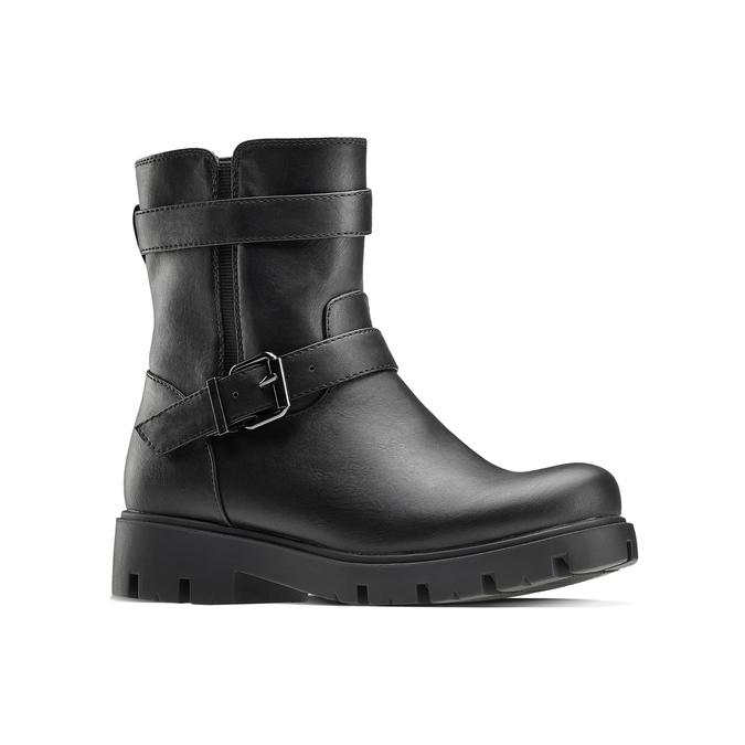 Childrens shoes mini-b, Noir, 391-6408 - 13