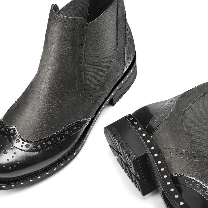 Women's shoes bata, Gris, 594-2186 - 19
