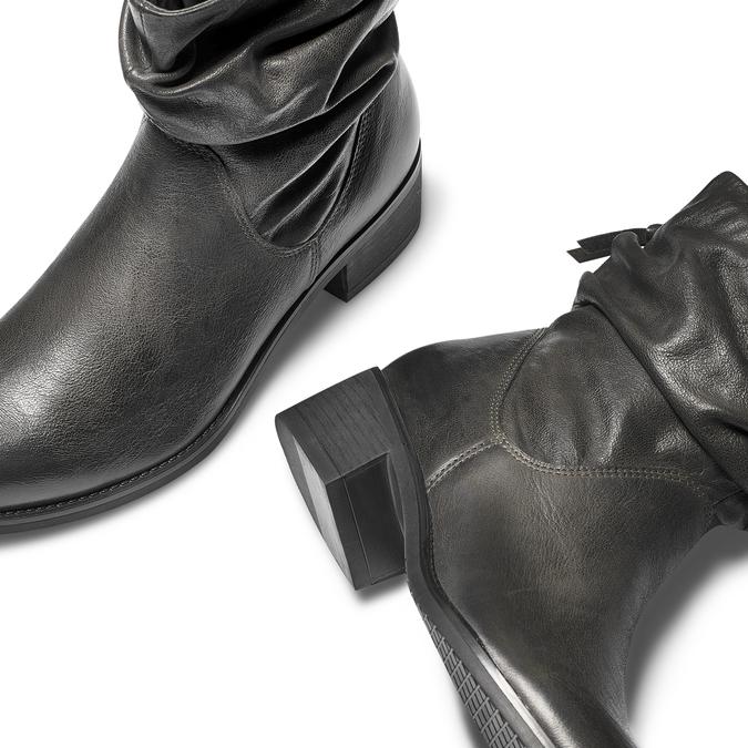 Women's shoes bata, Gris, 594-2102 - 19