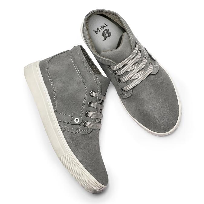 Childrens shoes mini-b, Gris, 311-2279 - 19